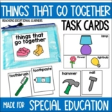 Things that go Together Task Card Set-Special Education