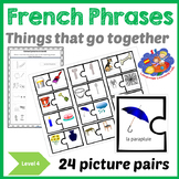 French Immersion Things that go together -Picture Resource