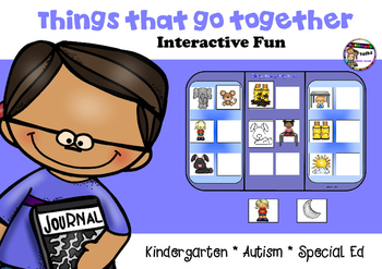 Things that go together - kindergarten, Autism, Special Ed