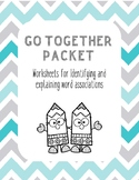 Things that go together (word associations, word classes, speech therapy)