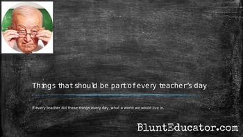 Things That Should Be Part of Every Teacher's Day