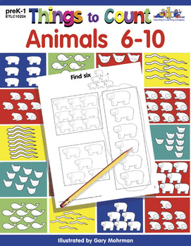 Things to Count: Animals 6-10
