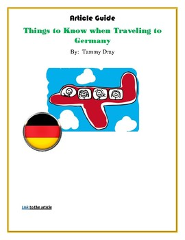 Things to Know when Traveling to Germany - Article Guide