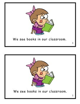 Things to See in Our Classroom: Guided Reader (-oom family)