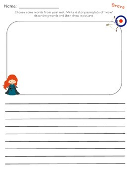 Things to Write About Literacy Station