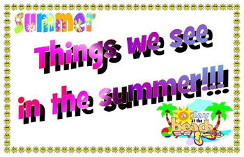 Things we see in the Summer!!