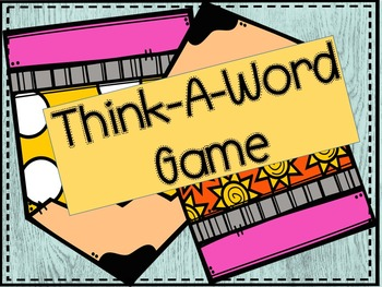 Think-A-Word Game