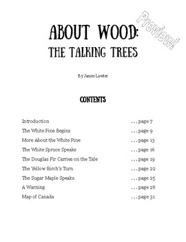 Think About History: 'About Wood: The Talking Trees'