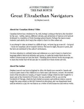 Think About History: Great Elizabethan Navigators