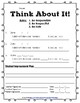 Think About It - Behavior Management Log