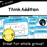 Think Addition-Teacher Slides (First Grade, 1.OA.4)