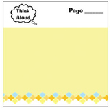 Think Aloud Sticky Notes for Teachers and Students