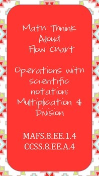 Think Aloud Multiplying/Dividing Scientific Notation Full Support