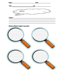 Think And Search Assist with bonus retelling graphic organizer