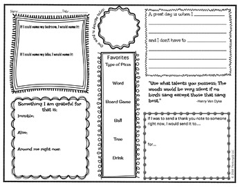 Think Book Student Journal 2nd Set