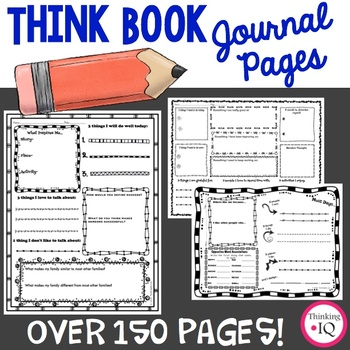 Think Book Student Journal Bundle