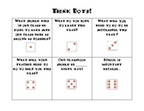 Think Dots Dice Game for Beginning of the Year
