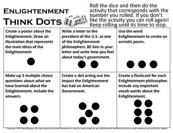 Think Dots Enlightenment - U.S. Government - Differentiation