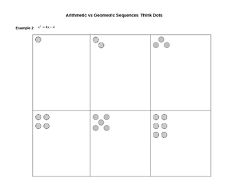 Think Dots: Solving Quadratic Equations