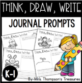 Think, Draw, Write! Beginning Writing Practice