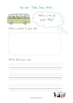 Think, Draw and Write: Bus Ride