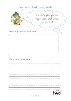 Think, Draw and Write: Fairy Wish