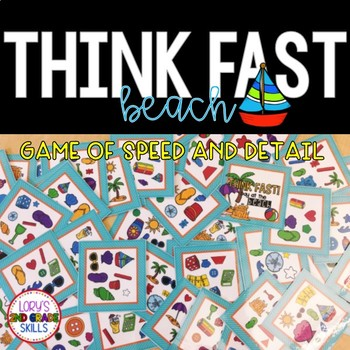 Think Fast! Beach Time