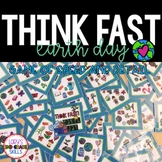 Think Fast!  Earth Day