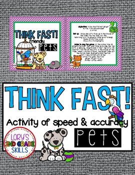 Think Fast! Pets