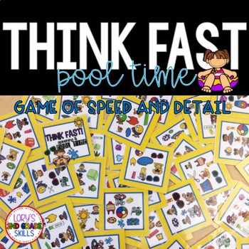 Think Fast! Pool Time