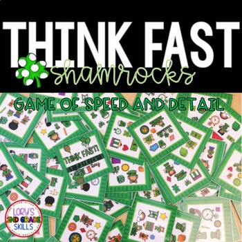 Think Fast!  St. Patrick's Day
