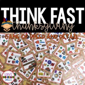 Think Fast! Thanksgiving