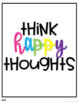 Think Happy Thoughts- September- Think Happy Thoughts