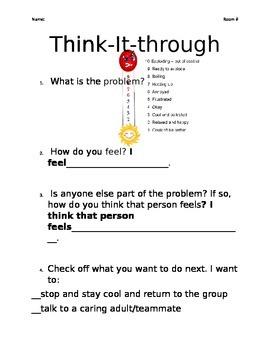 Think-It-Through Worksheet