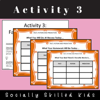 PERSPECTIVE TAKING ACTIVITIES: Making Social Decisions