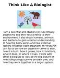 Think Like A Biologist