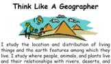 Think Like A Geographer