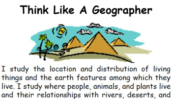 Think Like A Geographer