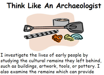 Think Like An Archaeologist