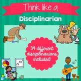 Think Like a Disciplinarian Posters