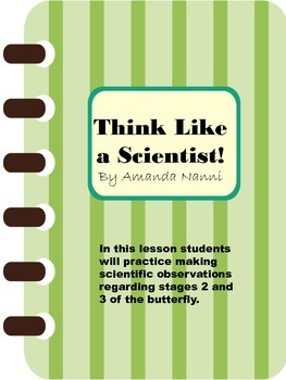 Think Like a Scientist: First and Second Grade