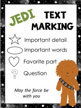 ELA Text Marking Strategies