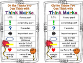 Think Marks: Dr. Seuss Theme!