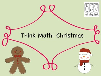Think Math: Christmas {Free}
