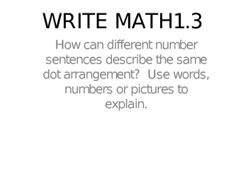Think Math Headline Story Chapter 1