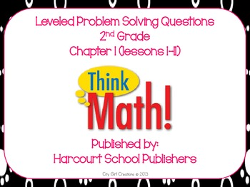 Think Math Leveled Problem Solving--Chapter 1