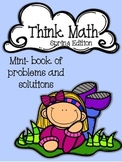 Think Math ~ Problem solving and creative thinking
