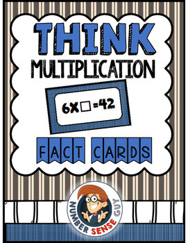Terrific Think Multiplication Cards
