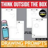 Think Outside the Box Drawing Prompts
