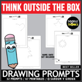 Think OUTSIDE the Box Drawing Prompts - Original